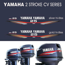YAMAHA 25hp Two Stroke CV Series