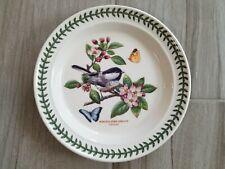 NEW Portmeirion Botanic Garden Birds Dinner Plate Chickadee Made in England