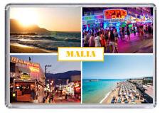 Malia Crete Greece Fridge Magnet 01