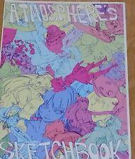 atmosphere leading animation Illustrator's art Book ATOMOSPHERE'S SKETCHBOOK