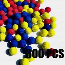 300 PCS - BLUE  RED YELLOW  Bullet Balls for NERF RIVAL Apollo Zeus Guns {C10}