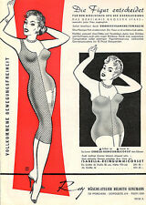 German LINGERIE Advertsing ROSY 1960s Bras PANTIES Girdles Rubber Direct Mail