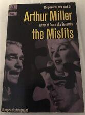 Arthur Miller The Misfits 1961 Dell Paperback Book Marilyn Monroe / Clark Gable