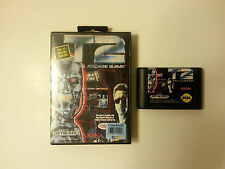 Sega Genesis T2: The Arcade Game w/ Box Case Cleaned Tested FREE SHIPPING