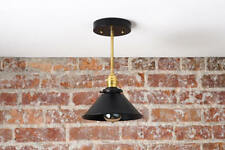 Modern Hanging Lamp - Kitchen Island Light - Metal Hanging Lamp,Matte Black