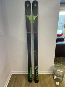 Blizzard Brahma 187 Alpine Skis, 88 underfoot