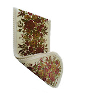 European Belgium Velvet Red Roses Table Runner/Placemats - Baroque