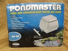 NEW NIB Pondmaster AP-60 Pond Aquarium Deep Water Air Pump Oxygenating Aerator