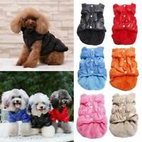 Pet Dog Coat Winter Windproof Waterproof Jumpsuit Puppy Warm Jacket Apparel Warm