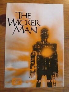 THE WICKER MAN 1973 Original Film Publicity Campaign Book CHRISTOPHER LEE HORROR