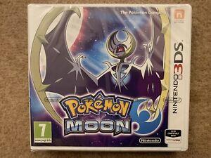 Pokemon Moon Nintendo 3DS Brand New & Factory Sealed UK