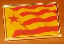 Estelada Vermella Catalonia Catalunya Catalan independence flag fridge magnet