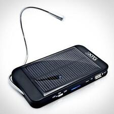 XTG Solar Charger, Solar Powered Back Up Battery (1500mAh, 1A USB Port) for New