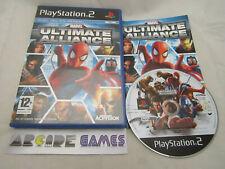 MARVEL ULTIMATE ALLIANCE PS2 PLAYSTATION 2 (vendeur pro)