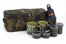 FOX Nuovo Mimetico Lite Brew KIT Borsa/Pesca della Carpa Bagagli CAMOLITE-CLU323