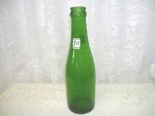 OLD GREEN 7 UP SODA BOTTLE