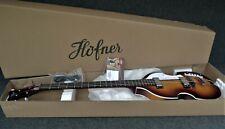 Hofner Violin Beatle Bass Guitar with Hct500/1 Knobs Sunburst Hi-Bb-Sb Ignition