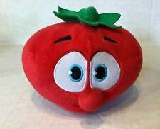 "VeggieTales Bob the Tomato 6"" Plush Stuffed Animal Toy 2015 Big Idea"