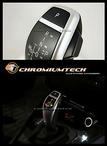 2003-11 BMW E83 X3 SILVER LED Shift Gear Knob for RHD w/Gear Position Light NEW