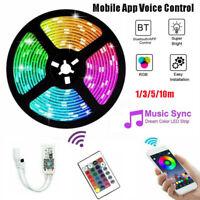 10M RGB LED Smart WIFI Flex Strip Light Mobile App Voice Control Lamp For Alexa