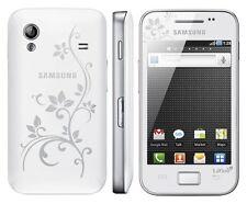 Samsung Galaxy Ace gt-s5830i Lafleur PURE WHITE BIANCO s5830 senza SIM-lock NUOVO