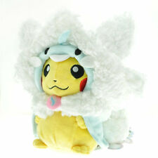 NEW Pokemon Plush Doll Poncho Pikachu Mega Altaria Stuffed Animal Toy Gift 8''