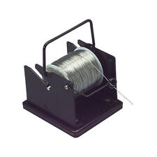 Solder Spool Holder with Weighted Base