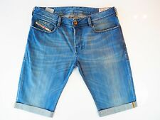 Diesel Zathan Jeans * Diesel Denim Shorts W32 Excellent Condition 008J6 32W *