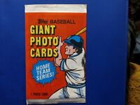 1981 40yrs old Topps Baseball GiantPhotoCards. Yankees& Mets 1-card per pack 5x7