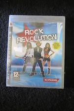 PS3 : ROCK REVOLUTION - Nuovo, sigillato, ITA ! Suona il Rock a tutto volume !