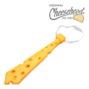 Cheesehead Necktie