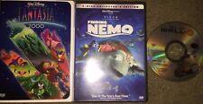 Fantasia 2000, Finding Nemo, Wall-E (Disc Only) Dvd Variety Mixes - Free Ship!