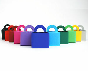 Recycled Card Party Favour Boxes, weddings, balloon weights, Gifts, colours