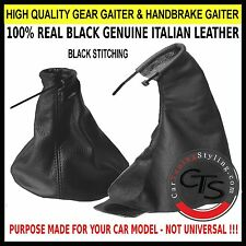 ASTRA F MK3 AH 91-02 BLACK STITCH GEAR GAITOR SHIFT BOOT HANDBRAKE GAITER