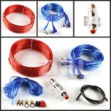1200W 8 Gauge Car Audio Amplifier Amp Installation Cable Wire Kit+ RCA Fuse AGU