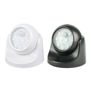 Battery Operated Night Light Smart Motion Sensor LED Stairs 360 Degree Rotate S
