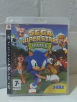 SEGA SUPERSTARS TENNIS - PS3 PLAYSTATION 3 GAME COMPLETE