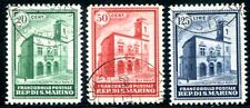 SAN MARINO 1932 175-177 gestempelt 125€(D4583
