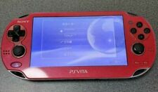 SONY PS Vita PCH -1000 RED Used Console Only+memory card conversion adapter F/S