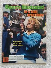 Sports Illustrated June 18, 1984; In a Zone of Her Own, Martina - RARE FIND!!