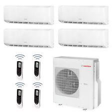 HANTECH Multi Split Klimaanlage 36000 BTU 4x 9000 Innen Klima Wifi - Modell GWH