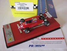 F1 BBR 1/43 FERRARI 126C2 GP SAN MARINO 1982 BG320A PRE DIDIER PIRONI WINNER