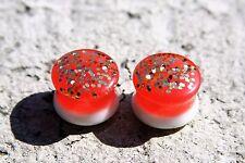 Size 16mm Handmade UNISEX resin Ear Plugs{P-06}