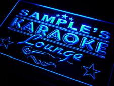 pk-tm Name Personalized Custom Karaoke Lounge Bar Beer Neon Sign