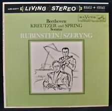 BEETHOVEN: Kreutzer And Spring-Rubenstein+Szeryng-RCA VICTOR #LSC-2377 Red Seal