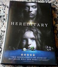 HEREDITARY Horror Masterpiece DVD Toni Collette Gabriel Byrne Ann Dowd Shapiro