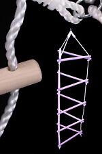 SMALL FOOT Klettergerüst Kletterleiter 180 cm HOLZ Strickleiter bis 120 kg NEU
