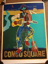 2005 New Orleans Jazz Fest Jazz Heritage Festival Congo Square Poster #12/3,600