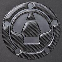 Carbon Fiber Fuel Gas Tank Cap Sticker Decal for Kawasaki Ninja 650R  ZX10R ZX6R