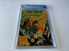OUR FIGHTING FORCES 8 CGC 6.0 NO WAR FOR A GUNNER DC COMICS 1956